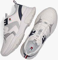 Witte TOMMY HILFIGER Lage sneakers 31034  - medium
