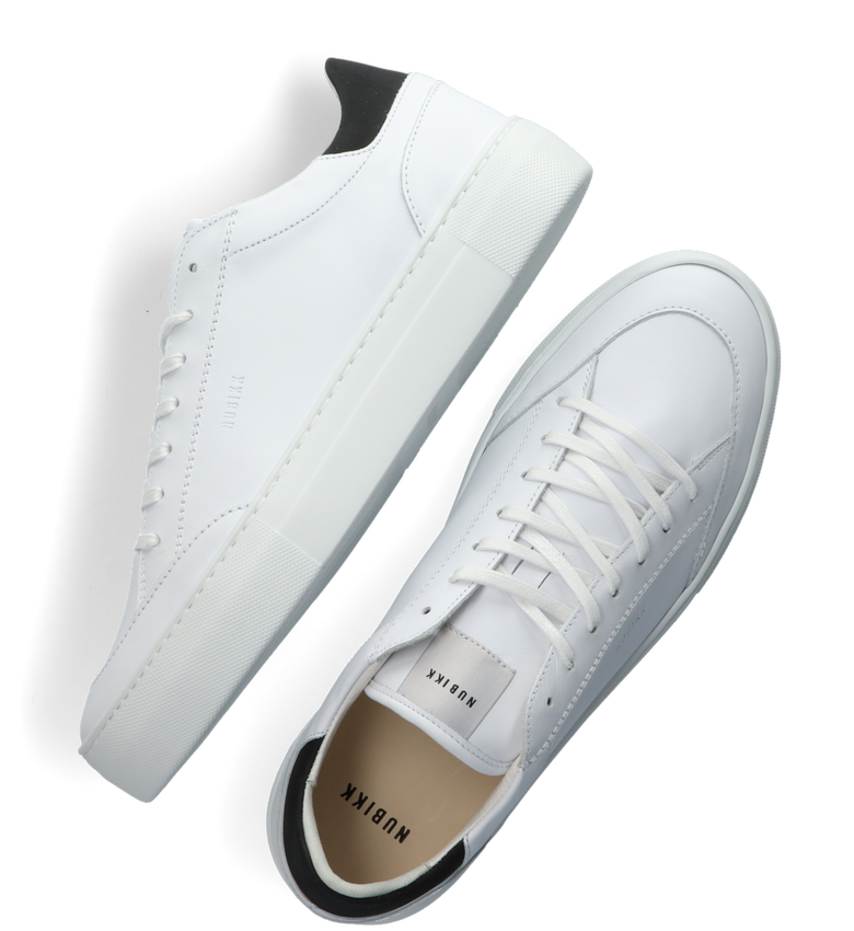 Witte NUBIKK Lage sneakers JAGGER TORA  - larger