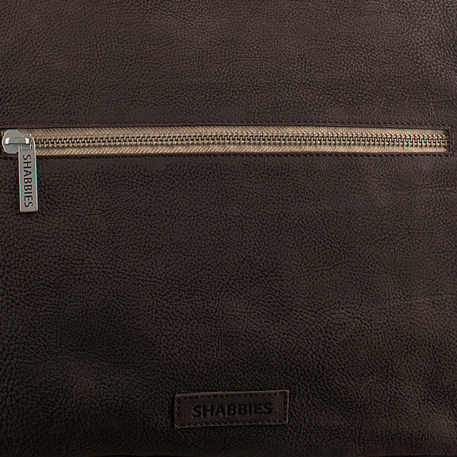 Bruine SHABBIES Handtas 261167 - large