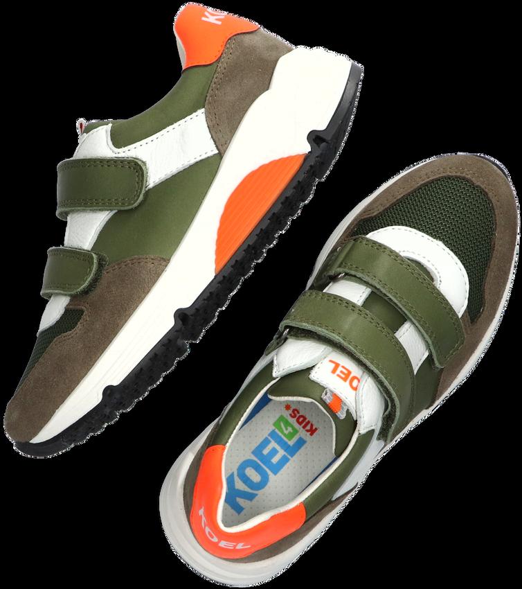 Groene KOEL4KIDS Lage sneakers KO1013  - larger