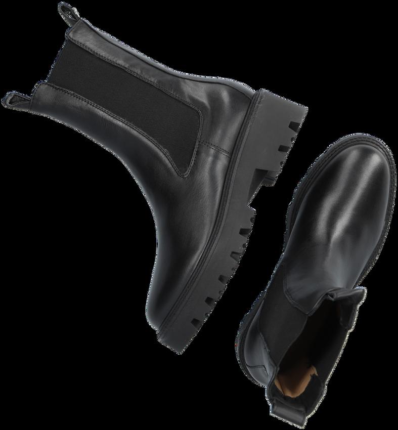 Zwarte NOTRE-V Chelsea boots 03-12  - larger