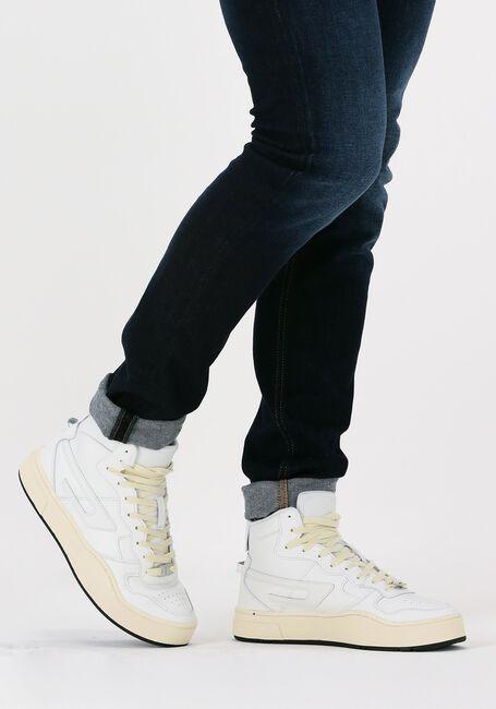 Witte DIESEL Hoge sneaker S-UKIYO MID  - large