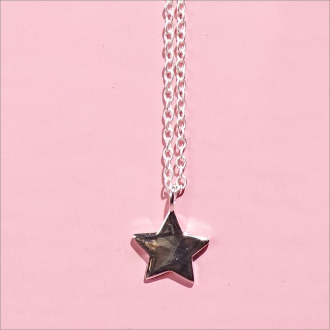 Zilveren ALLTHELUCKINTHEWORLD Ketting FORTUNE NECKLACE STAR - large