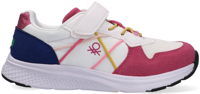 Witte BENETTON Lage sneakers ASCENT VELCRO  - large