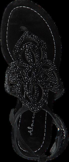Zwarte ALMA EN PENA Sandalen V17407  - large