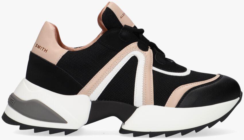 Zwarte ALEXANDER SMITH Lage sneakers MARBLE  - larger
