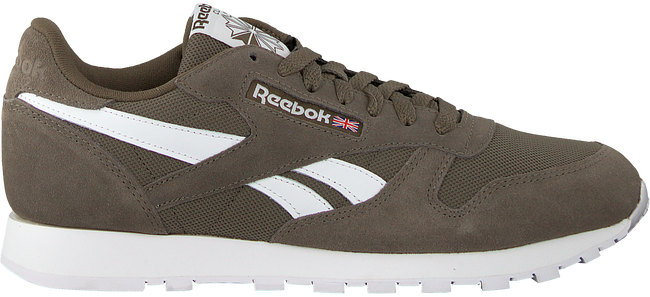 Grijze REEBOK Sneakers CL LEATHER MU - large