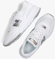 Witte NEW BALANCE Lage sneakers CW997  - medium