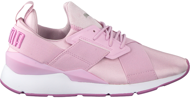Roze PUMA Sneakers MUSE SATIN II - large