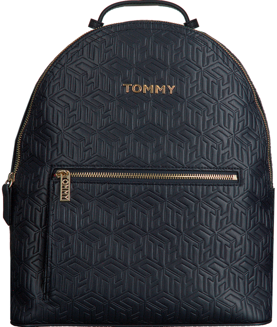 Blauwe TOMMY HILFIGER Rugtas ICONIC TOMMY BACKPACK  - large