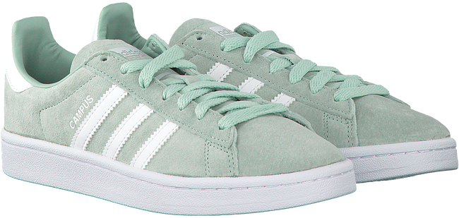 Groene ADIDAS Sneakers CAMPUS DAMES  - large