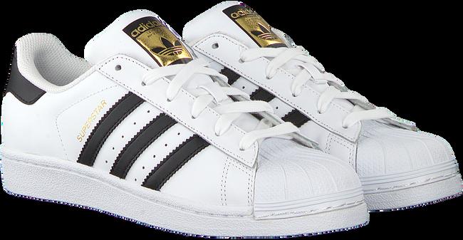 Witte ADIDAS Sneakers SUPERSTAR J  - large