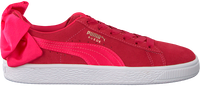 roze PUMA Sneakers SUEDE BOW JR  - medium