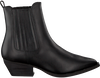 Zwarte DEABUSED Chelsea boots 7276 - small
