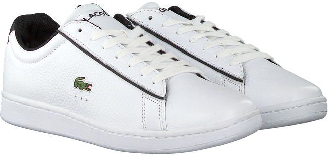 Witte LACOSTE Lage sneakers CARNABY EVO 120 - large