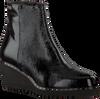 Zwarte ROBERTO D'ANGELO Enkellaarsjes SA1701  - small