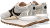 Gouden VOILE BLANCHE Lage sneakers QWARK WOMAN  - small