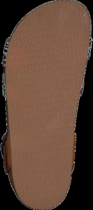 Bruine BRAQEEZ Sandalen SAAR SPAIN  - larger