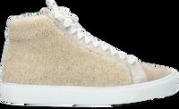Beige P448 Hoge sneaker STAR  - medium