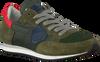 Groene PHILIPPE MODEL Sneakers TROPEZ L JUNIOR  - small