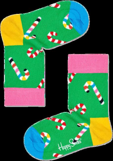 Groene HAPPY SOCKS Sokken CANDY CANE SOCK  - large