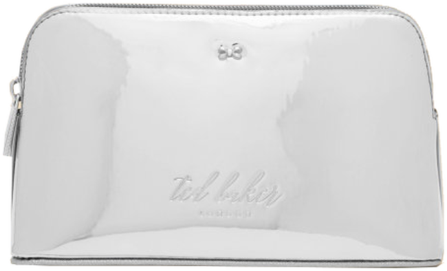 Zilveren TED BAKER Toilettas LINDSAY - large