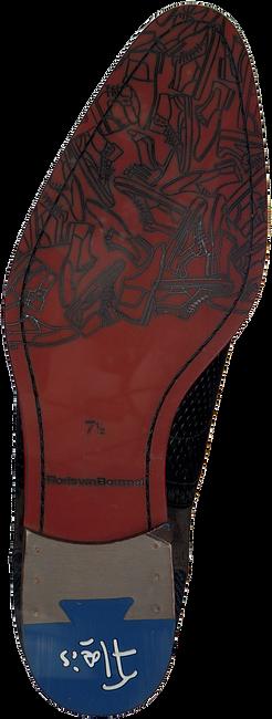 Zwarte FLORIS VAN BOMMEL Nette schoenen 19104  - large