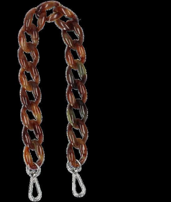 Bruine HVISK Schouderband CHAIN HANDLE  - large
