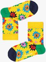Gele HAPPY SOCKS Sokken KIDS LION  - medium
