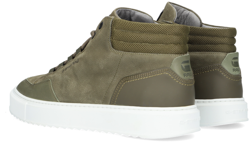 Groene G-STAR RAW Hoge sneaker RESISTOR MID BSC M  - larger