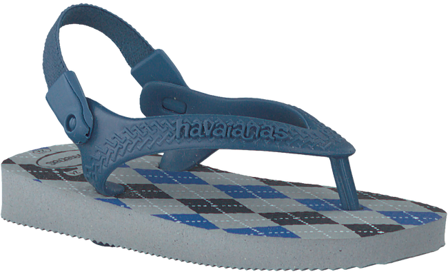 Grijze HAVAIANAS Slippers HAV.BABY CHIC  - large