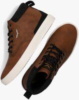 Cognac PME Hoge sneaker LEXING-T  - medium