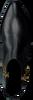 Zwarte NIKKIE Enkellaarsjes SAFARI ZIPPER BOOT  - small