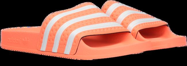 Oranje ADIDAS Badslippers ADILETTE KIDS - large