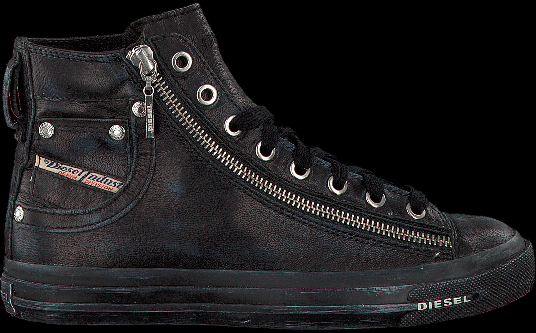 Chaussures De Sport Diesel Zwarte Magnets Exposition Wmn Vl29v