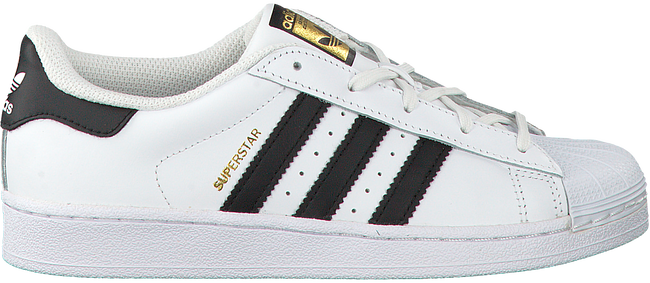 Witte ADIDAS Sneakers SUPERSTAR C - large
