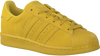 Gele ADIDAS Sneakers SUPERSTAR J  - small