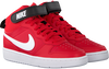 Rode NIKE Hoge sneaker COURT BOROUGH MID 2 (GS)  - small