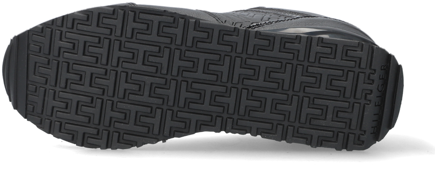 Zwarte TOMMY HILFIGER Lage sneakers DRESSY WEDGE  - larger