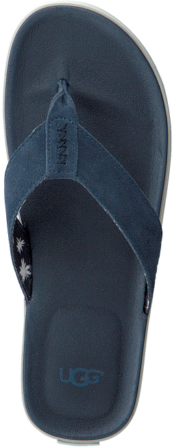 blauwe UGG Slippers BEACH FLIP  - large
