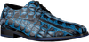 Blauwe FLORIS VAN BOMMEL Nette schoenen 18204  - small