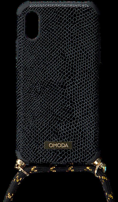 Zwarte OMODA Telefoonkoord XS/MAX IPHONE KOORD  - larger