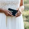 Groene IDEAL OF SWEDEN Telefoonhoesje MAYFAIR CLUTCH VELVET S9 PLUS - small