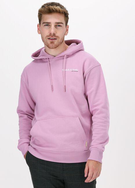Roze SCOTCH & SODA Sweater UNISEX - RELAXED-FIT FELPA HOO - large