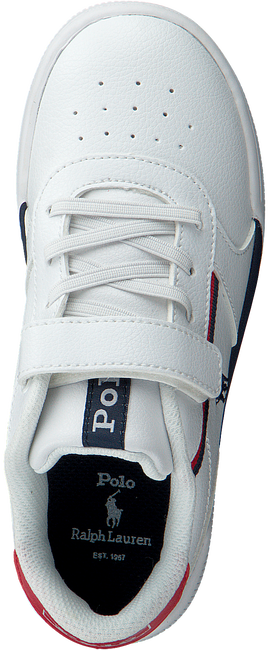 Witte POLO RALPH LAUREN Lage sneakers KEELIN PS  - large