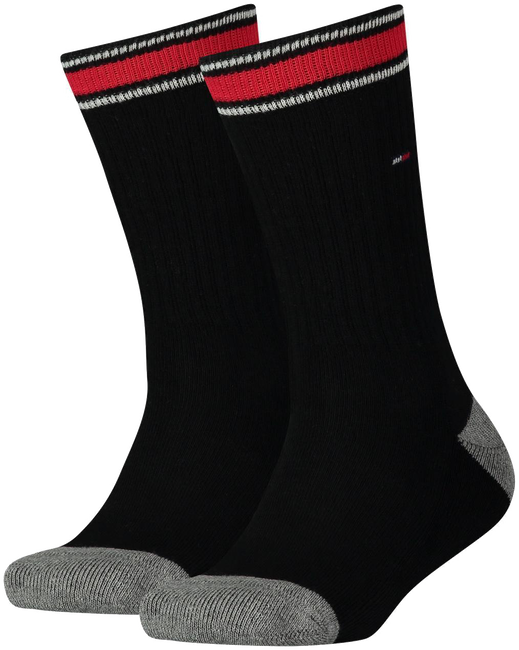Zwarte TOMMY HILFIGER Sokken TH KIDS ICONIC SPORTS SOCK 2P - large