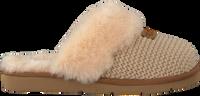 Beige UGG Pantoffels COZY KNIT SLIPPER - medium
