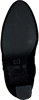 Zwarte NIKKIE Enkellaarsjes VELVET ANKLE BOOTS  - small