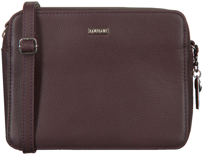 Paarse LOULOU ESSENTIELS Schoudertas 12POUCH  - large