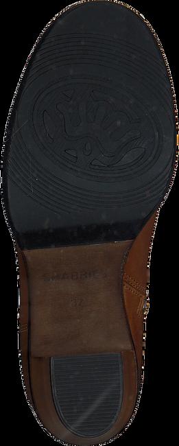 Cognac SHABBIES Enkellaarsjes 183020101  - large